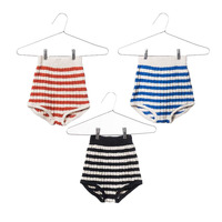 Baby Boys Shorts Bobo Choses 2017 Spring Summer Clothes Toldder Kids Boys Girls Striped Knitted Cotton