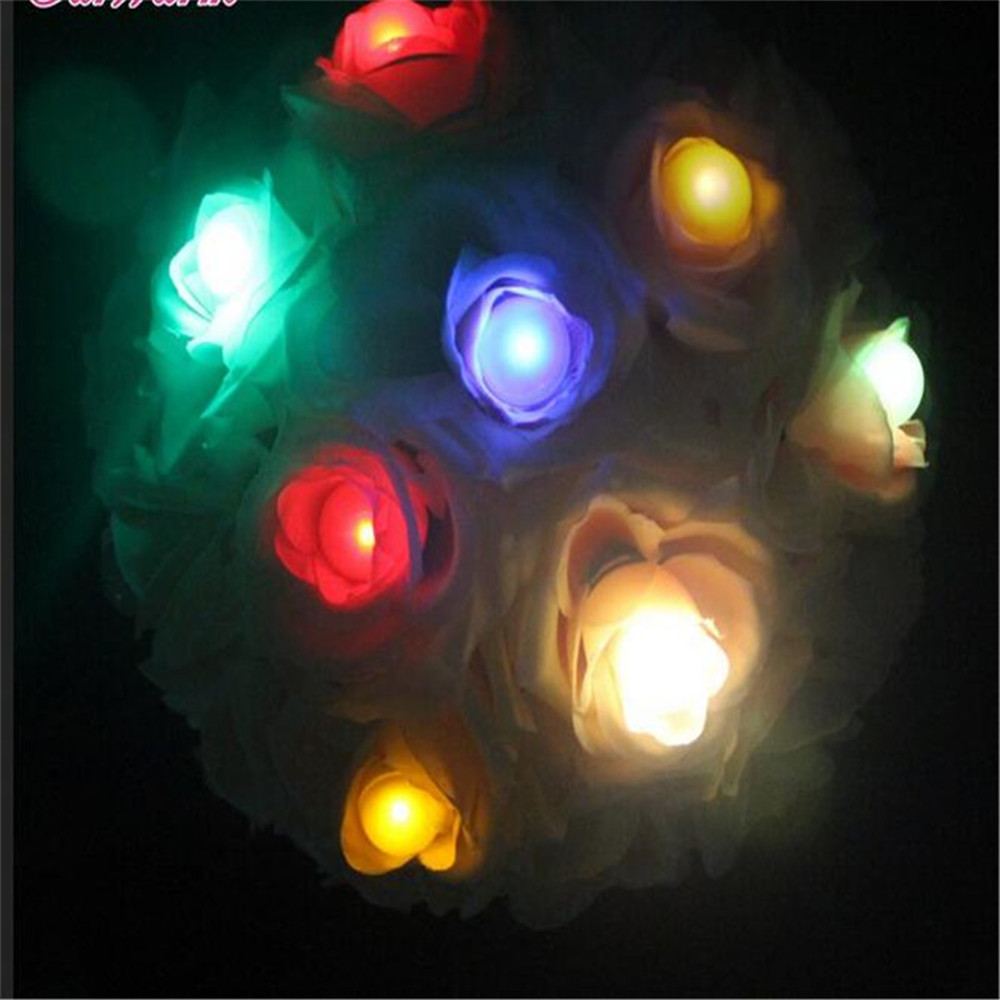Colorful Waterproof Battery Operated Led Fairy Lights For Costume Decoration-in Glow Party Supplies from Home u0026 Garden on Aliexpress.com | Alibaba Group  sc 1 st  AliExpress.com & 120pieces / lot Fading Balls!! Colorful Waterproof Battery Operated ...