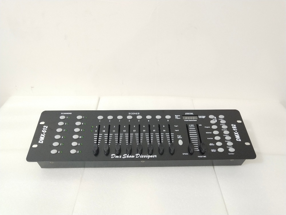NEW DJ 192 DMX controller, for stage lighting 512 dmx console DJ controller equipment dmx 512 controller 192 dmx controller for stage lighting 512 dmx console dj controller equipment