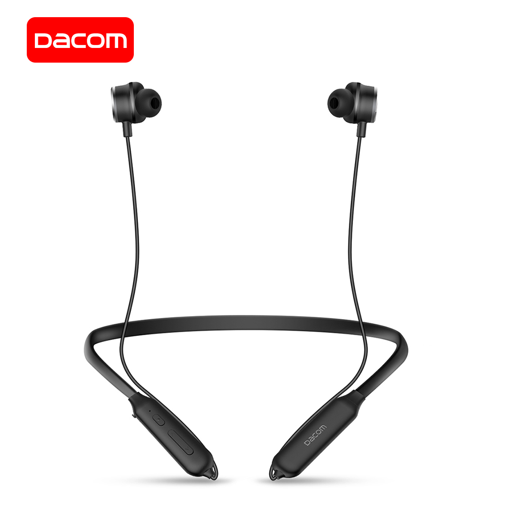 лучшая цена DACOM L10 Wireless Headphones Active Noise Cancelling Bluetooth Earphone Neckband Wireless Bluetooth Headset for iPhone Samsung