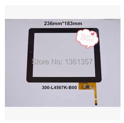 9.7 -inch new tablet capacitive touch screen 300-L4567K-B00 free shipping