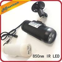 CCTV Fill Light Surveillance Cameras night vision Fill light 850nm Invisible Day Night 3PCS IR Array Illuminator Lighting