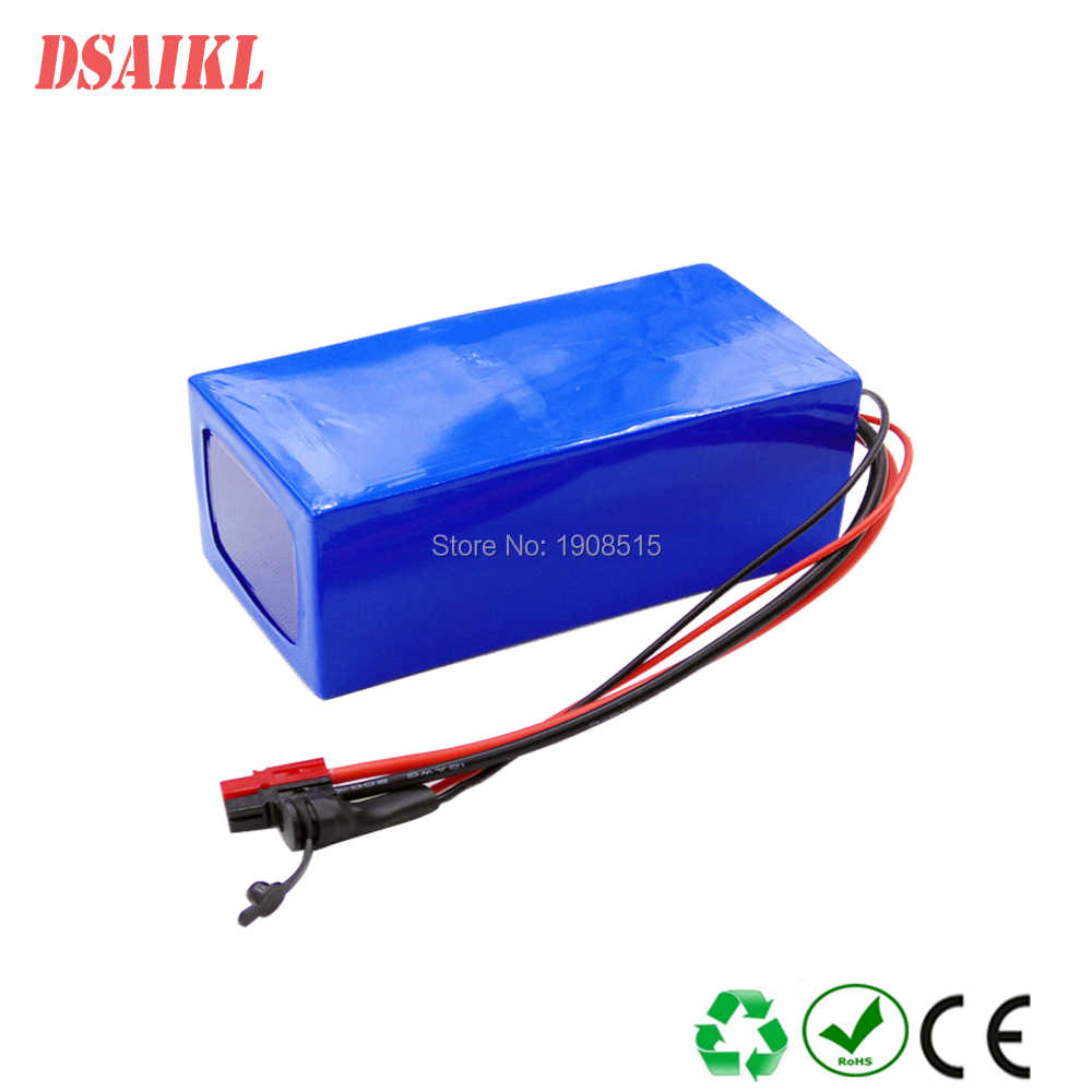 52V 6ah 14S2P 30Q 18650 cells lithuim ion battery for 8Fun BBS02B 750W electric bike with 58.8V 2A charger