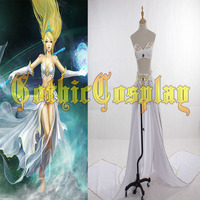 Janna Cosplay LOL Cosplay Dress Halloween Carnival Game Cosplay Costume