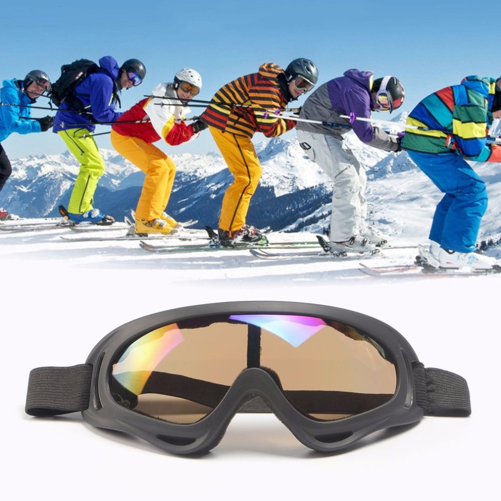 LESHP Windproof Anti-fog Tactical Glasses Goggles Polarized Outdoor Glasses UV400 Protection for Off-road Riding Skiing