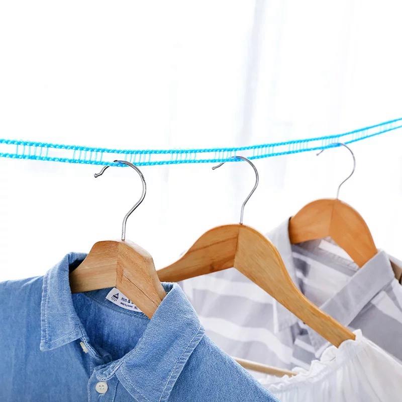 5M Portable Anti-skid Clothes Drying Rack Windproof clotheslines Clothesline Drying Quilt Clothes Dryer Organiser Laundry Hanger