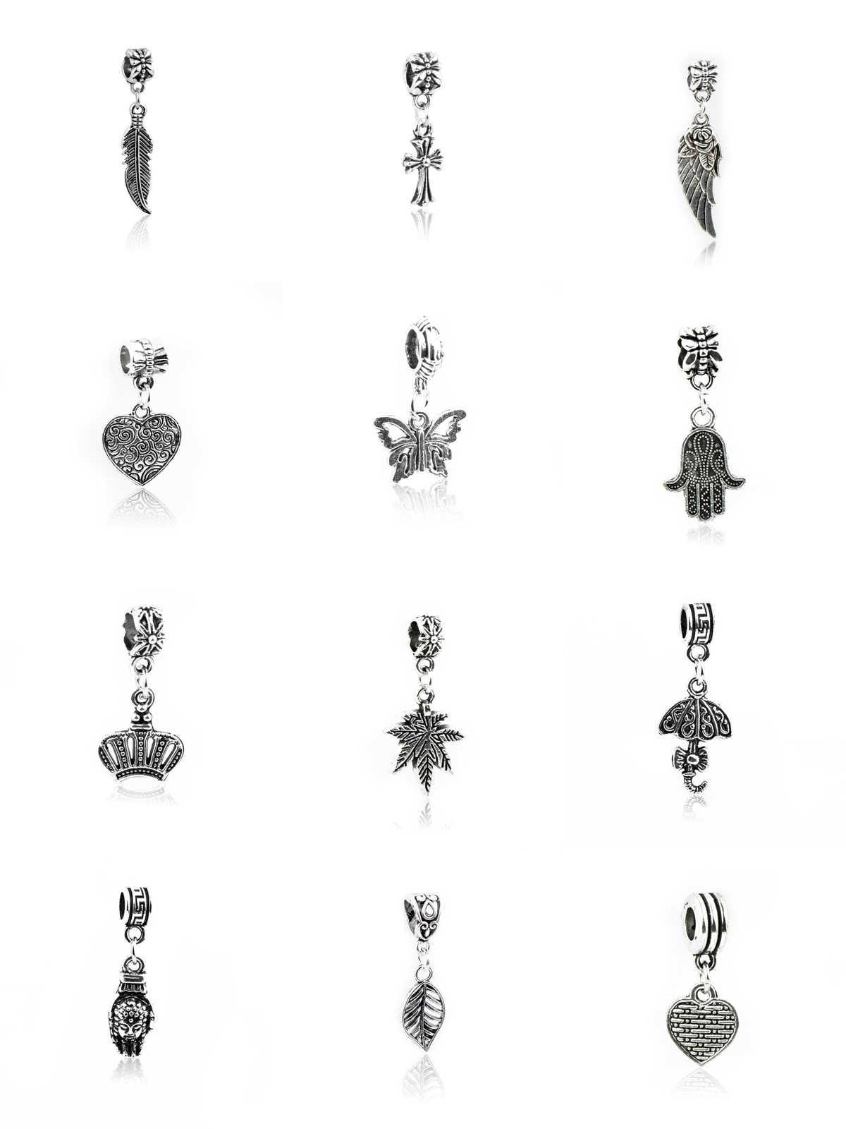 2019 del Metallo Della Lega Croce, Golden Tree, Fantasma Artiglio, Foglia, Amore Piuma, Ombrello, Corona, palmo della mano, Maple Leaf, Farfalla, Caduta di fascino