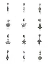 2019Alloy Metal Cross, Golden Tree, Ghost Claw, Leaf, Love Feather, Umbrella, Crown, Palm, Maple Leaf, Butterfly, Dropping charm(China)