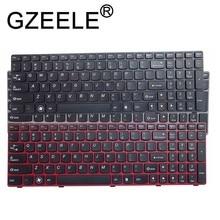 GZEELE английский Клавиатура для lenovo G580 Z580 G580A V580A Z580A G580AH G580AM G580G G585 G585A G585AR B580 G590 с рамкой