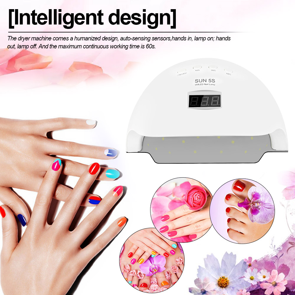 Methodisch Sonne 5 S 50 Watt Uv Led Nagel Lampe Professionelle Nagel Gail Trockner Maschine FÜhrte Nagel Lampe Fingernägel Zehennägel Ausrüstung Nail Art Werkzeug Eine GroßE Auswahl An Modellen Schönheit & Gesundheit