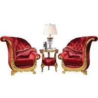Европейский классический диван стул для гостиной стул деревянный стул