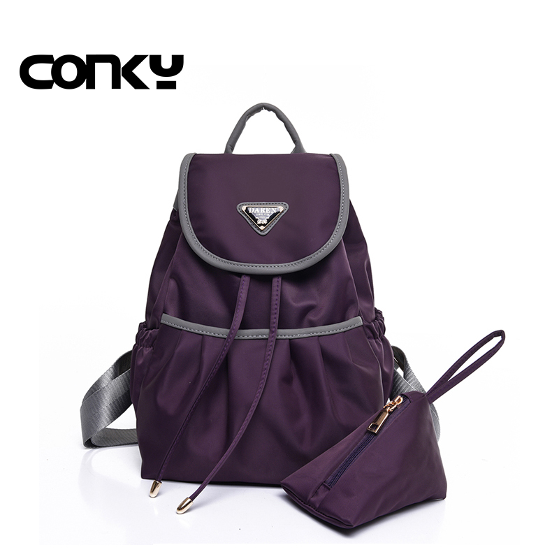 New 2016 Women Backpack Waterproof Nylon 4 Colors Lady Women s Backpacks Female Casual Travel bag