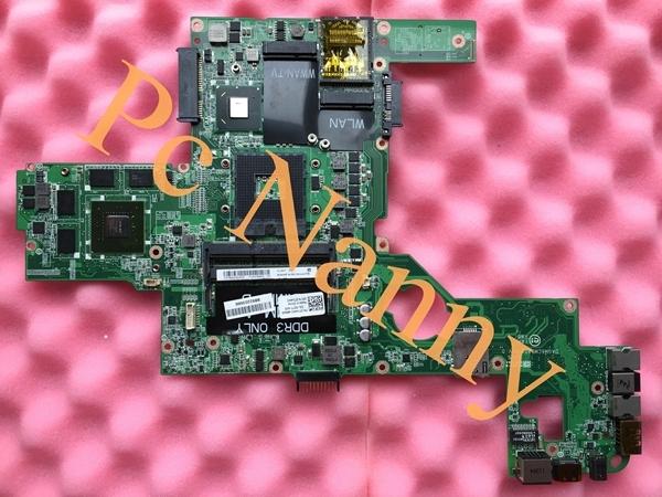 Original de la Placa Madre Del Ordenador Portátil para Dell XPS L502X CN-0714WC 714WC DAGM6CMB8D0 HM67 con gráficos NVIDIA GeForce GT 540 M 2 gb
