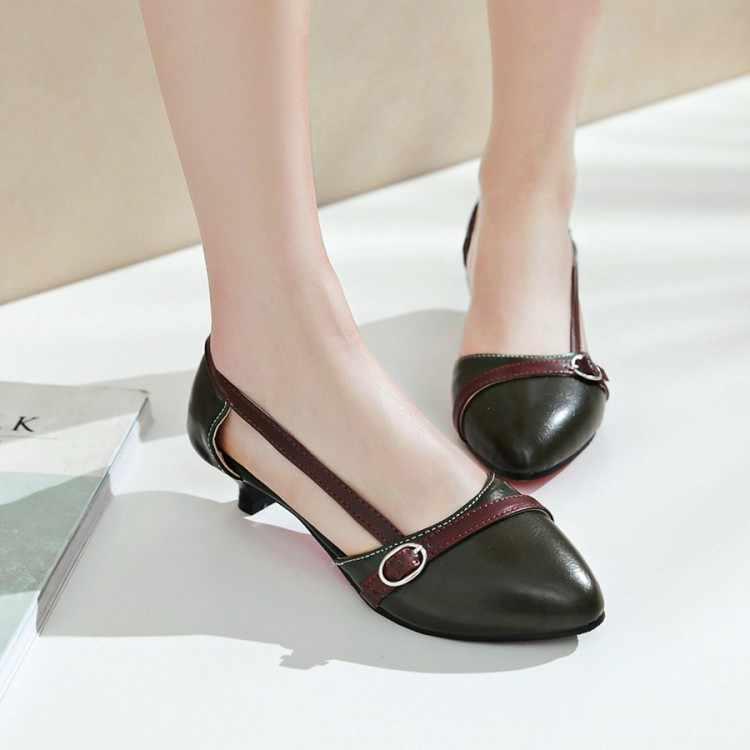 كبير حجم 11 12 13 14 15 صندل كعب عالٍ النساء أحذية امرأة الصيف السيدات الضحلة الفم غرامة كعب عبر ضمادة