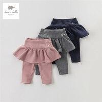 DB3954 N dave bella autumn cotton baby girl pants girls leggings