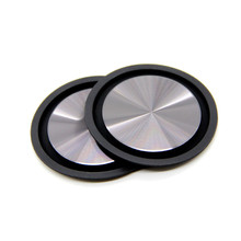 2PCS 62mm diameter bass diaphragm passive plate enhanced low frequency film radiator rubber