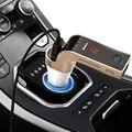 4-em-1 Car Kit mãos livres MP3 Player de Música Rádio Adaptador Com único USB Carregador de Carro LEVOU As Mãos Livres Bluetooth Carro FM transmissor