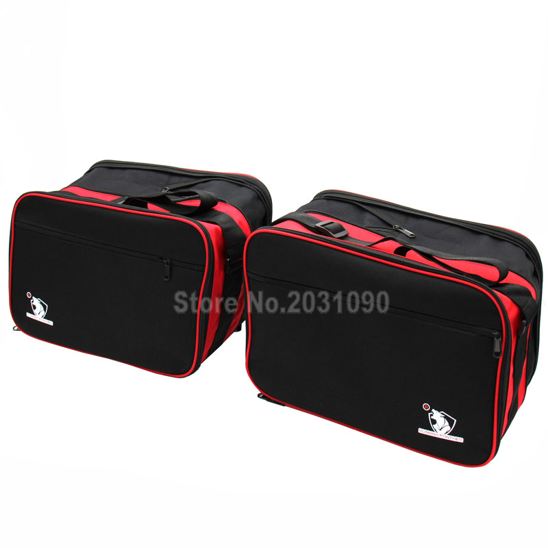 BMW R1200RT LC New pannier liner luggage bags quality pair brand new Red//Black
