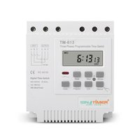 Three Phases 380V 7 Days Weekly Programmable Timer Relay Digital Electronic Microcomputer Time Control Pump Timing Switch