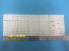 1 Set =10pcs Led backlight for 49E3000 49E6000 49E360E/5ERS 5800 W49001 1P00 5800 W50001 1P00 480MM 6Leds