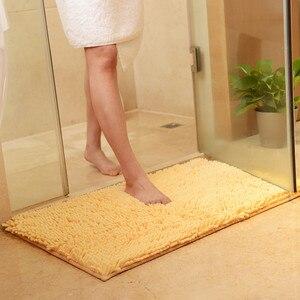 Image 4 - Kaymaz Banyo Paspas Banyo Halısı, Tapis Salle de Bain, Mat Banyo Rahat Banyo Pedi, büyük Boy Yatak Odası Banyo Halıları