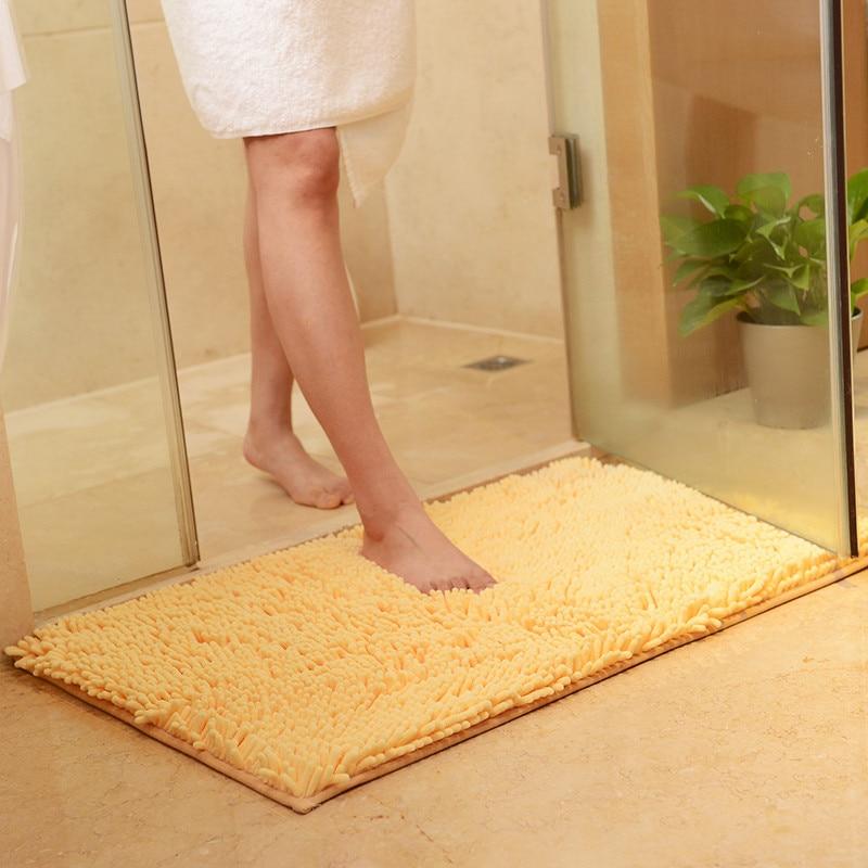 Non Slip Bath Mat Bathroom Carpet Tapis Salle de Bain Mat in the Bathroom Comfortable Bath