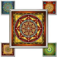 Thangka Mandala de Buda pintura de Tibetanos religiosos Pinturas Cuadro pintura al óleo lienzo arte de pared cuadros Mandalas arte