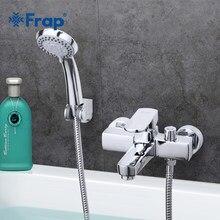 Frap darmowa wysyłka nowoczesny styl do kąpieli i pod prysznic kran zimna i ciepła mieszacz wody pojedynczy uchwyt żurawia F3273