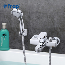 Frap Gratis Verzending Moderne Stijl Bad en Douche Kraan Koud en Warm Water Mixer Enkele Handgreep Kraan F3273
