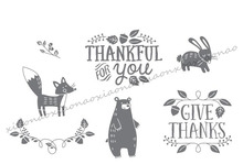 Thankful for you  Transparent Clear Silicone Stamp/Seal for DIY scrapbooking/photo album Decorative clear stamp sheets