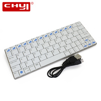 Ultra Slim Wireless Keyboard Bluetooth 3 0 Gaming Keyboard Board Gamer For Apple IPad IPhone Series
