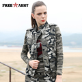 New Design Autumn Camouflage Vest Slim Military Women's Thin Vest Cotton Sleeveless Coats & Jackets Women's Clothing Gs-8638B