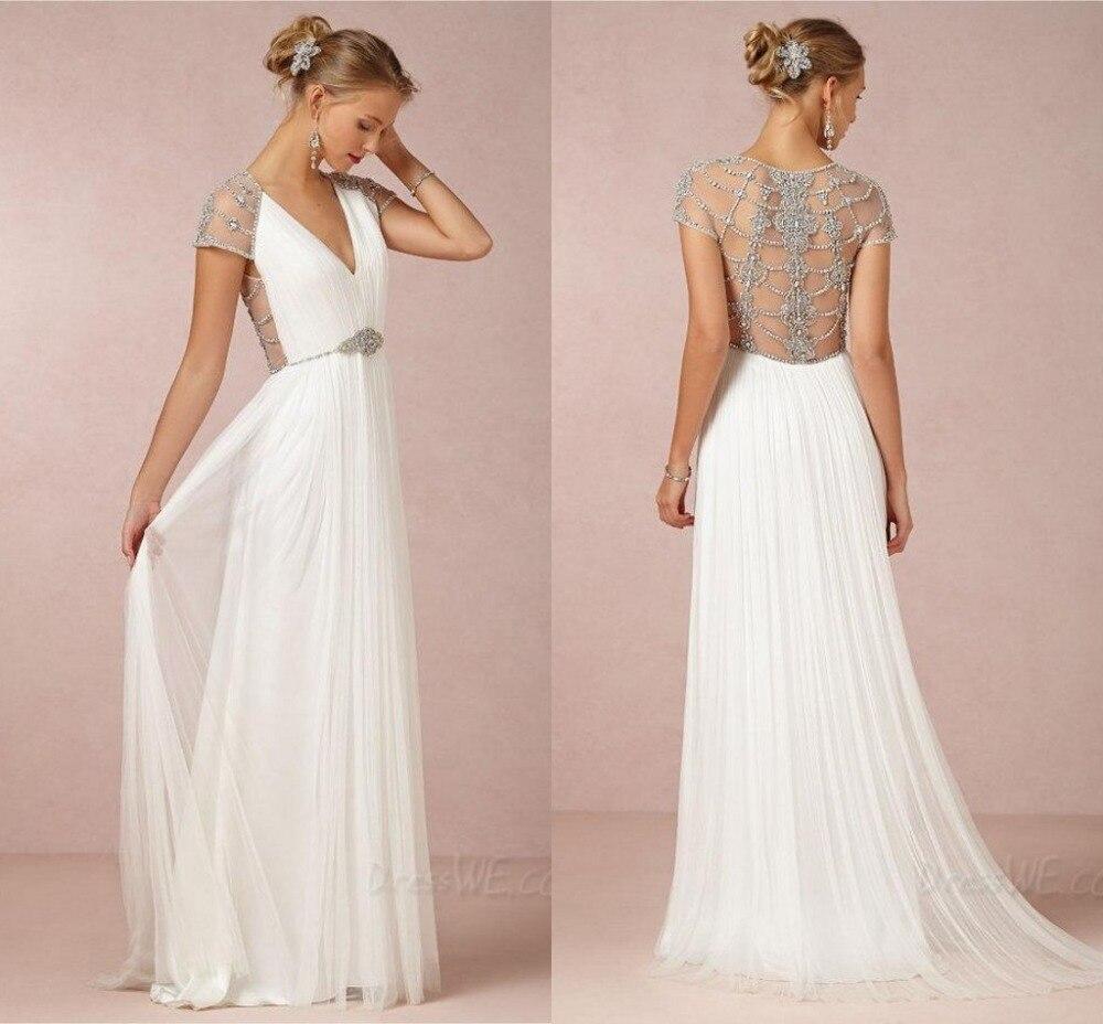Mother Of The Bride Wedding Dresses Linen Dress Chiffon High Street ...