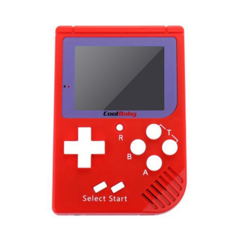 Cute Pocket Handheld Video Game Console 2.2 inch LCD 8 Bit Mini Portable Game Player Built-in 129 Games Tetris Game