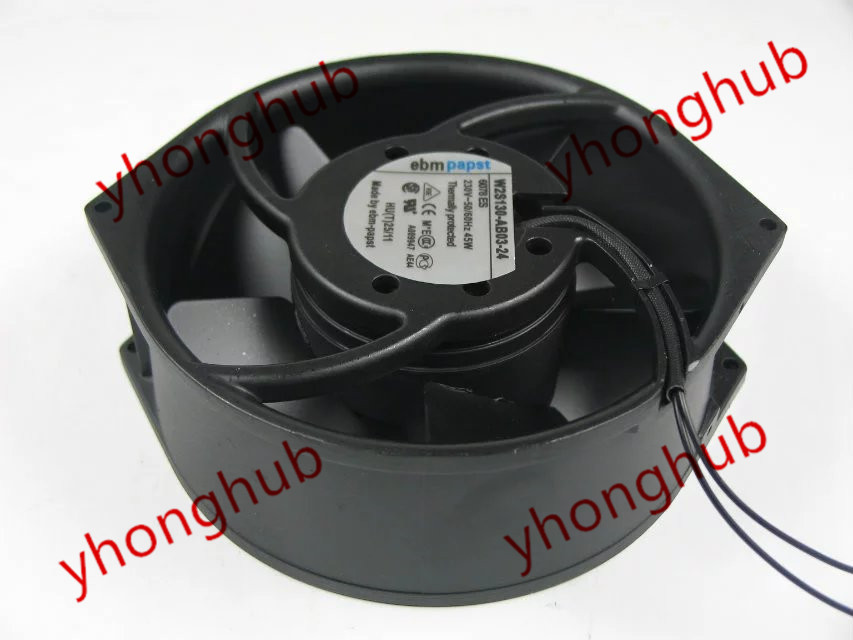 все цены на Free Shipping For ebmpapst W2S130-AB03-24 AC 230V 45W 2-wire Server Round fan онлайн