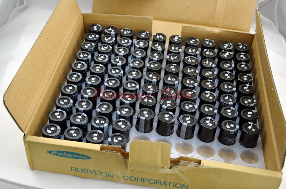 Japan RUBYCON USC 10000uF 63V Electrolytic Capacitor, for Audio Amplifier.