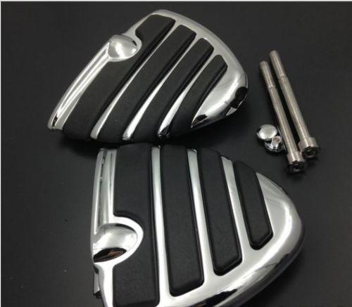 Мотоцикл крыло подставка для ног подножки для Хонда goldwing 1800 GL1800 Сузуки Бульвар M109R М50 М50 черный Волусиа 800