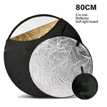 Five Color Portable 80cm In One Reflector, Foldable Background Reflector Soft Plate