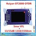 DHL Бесплатно Ruiyan OTDR 1310/1550nm 13/15dB SM одномодового Оптического Волокна OTDR (встроенный 5 МВт VFL лазерный Источник по аналогии с JDSU OTDR