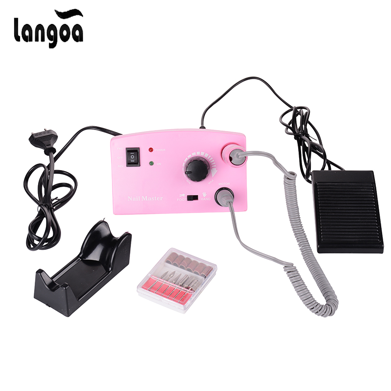 цена на 30000 RPM Nail Drill Pro Electric Diamond Nail Drill File Machine Maniure and Pedicure Drill Polish for Gel Polish