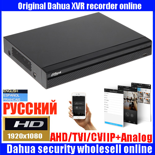 Mutil language Dahua XVR video recorder XVR5104HS XVR5108HS XVR5116HS 4ch 8ch 16ch 1080P Support HDCVI/ AHD/TVI/CVBS/IP CameraMutil language Dahua XVR video recorder XVR5104HS XVR5108HS XVR5116HS 4ch 8ch 16ch 1080P Support HDCVI/ AHD/TVI/CVBS/IP Camera