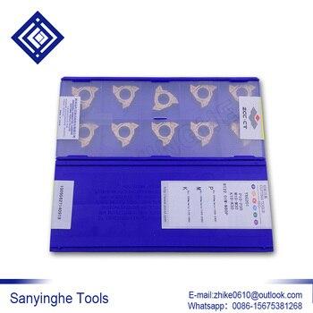 Original ZCCCT 10pcs/lots RT22.01W-N60P YBG201 cnc carbide turning inserts threading inserts CNC carbide blade cnc tools