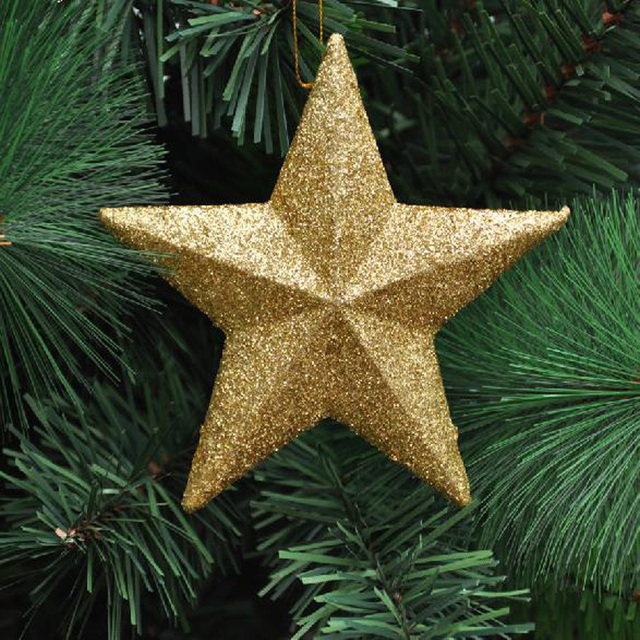 Christmas Tree 5 Star Decorations Decoration Supplies Christma Ornaments For Home Adornos