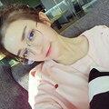 Марка женские Оптические Очки Кадр Женщин Очки Большой Металлический Оптический Кадров Ясно Очки Рецепт Очки