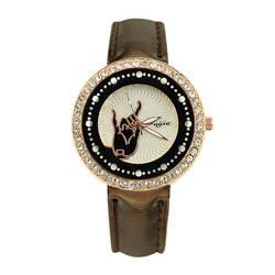 Кожаный ремешок на запястье Горячая 2019 браслет часы женские Роскошные браслет из нержавеющей стали часы аналоговые кварцевые часы Быстрая