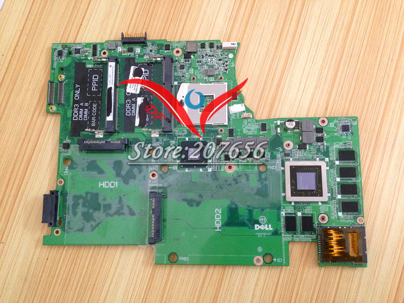 L702X motherboard 0YW4W5 CN-0YW4W5 for dell laptop motherboard DAGM7MB1AE1 fully tested well
