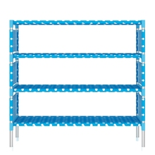 New Arrival Multilayer Shoe Stand Lightweight Plastic Shoe Cabinet Storages Rack Large Capacity Shoe Rack for Home