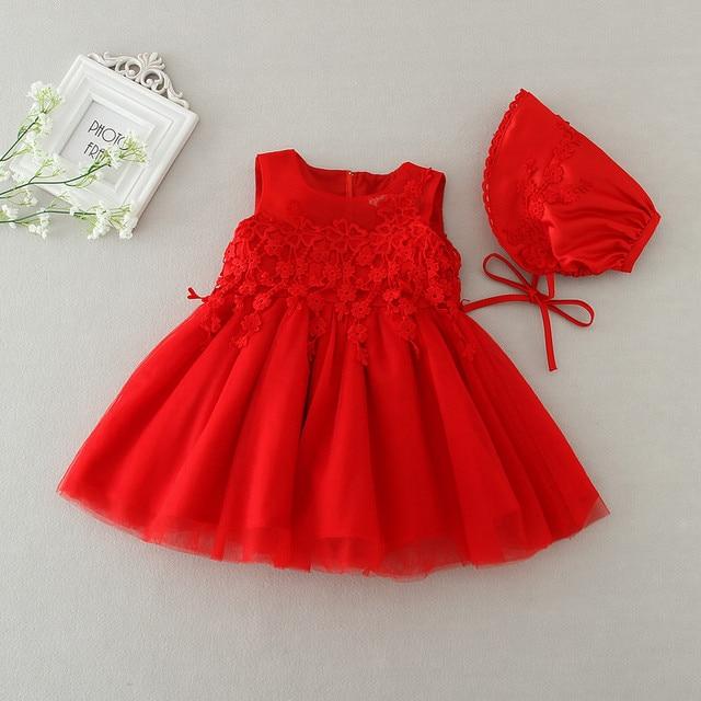 b0477514792a Sun Moon Kids Bébé Fille Dress + Chapeau Nouveau-Né Fête D anniversaire De