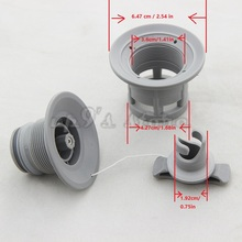 1pc Double Seal Grey/Black H-R Air Valve For Inflatable Boat Raft Dinghy Kayak Canoe