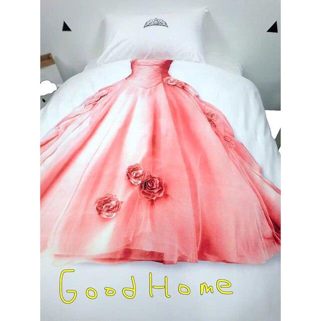 Bettwäsche Set Prinzessin Hause Abdeckung Spezielle Kleines Mädchen